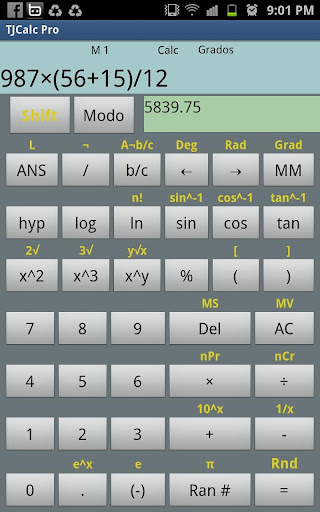 【免費工具App】TJCalc Scientific Calculator-APP點子