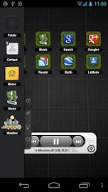 TSF Music Widget Screenshot 1