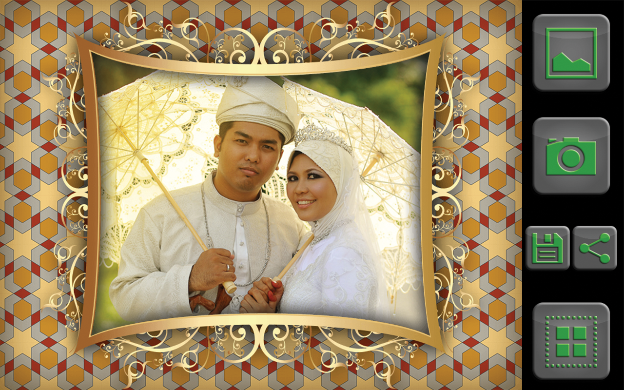 muslim photo frames editor pro screenshot