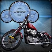 Harley Davidson Motorbike LWP