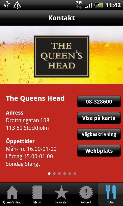 Queen's Head - screenshot