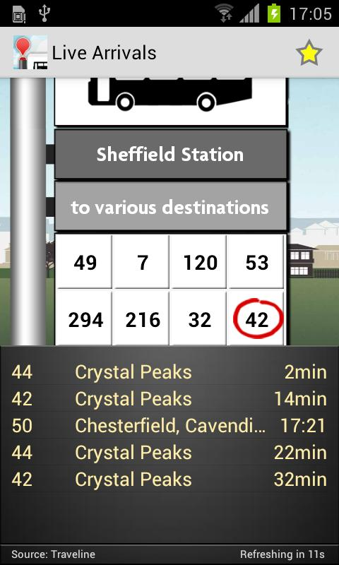 UK Bus Checker Lite - Free - screenshot