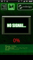 Screenshot of Phone Reception Monitor