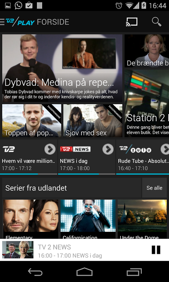 TV 2 PLAY - screenshot