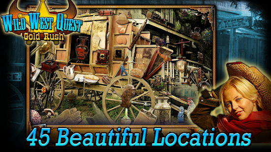 Wild West Quest Gold Rush full 休閒 App-愛順發玩APP