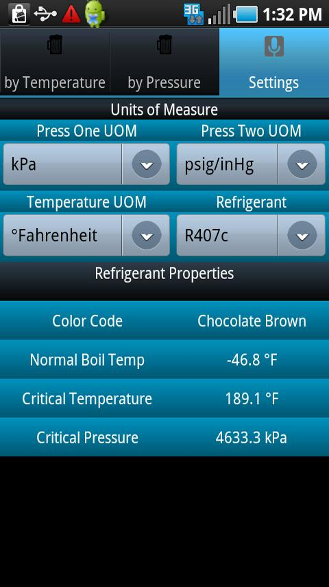 HVAC Buddy® Refrigerant Press - screenshot