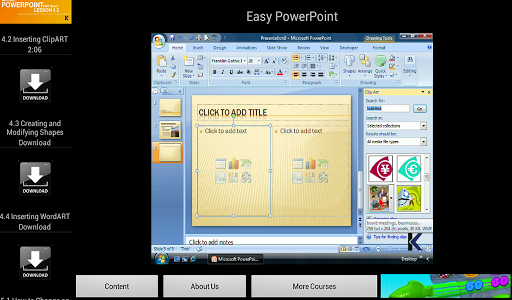 Easy PowerPoint Video Training