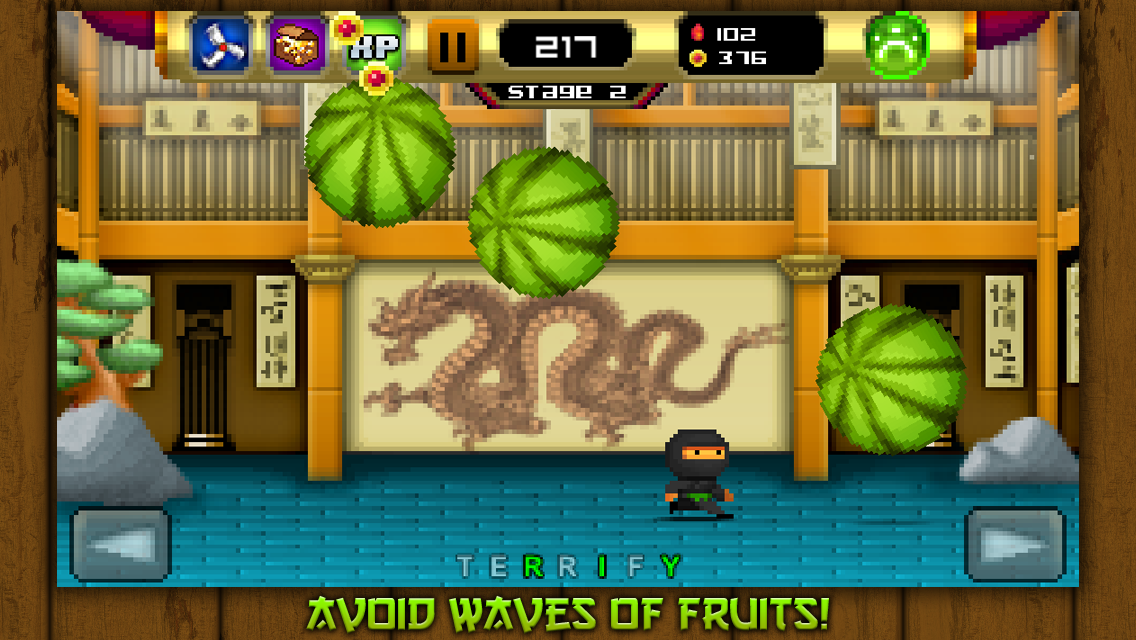 8bit Ninja- screenshot