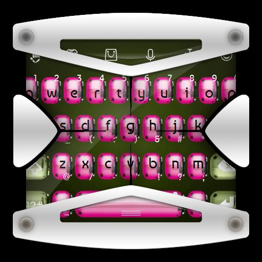 粉紅色的瓢蟲 TouchPal 個人化 LOGO-阿達玩APP
