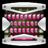 Pink Ladybug TouchPal
