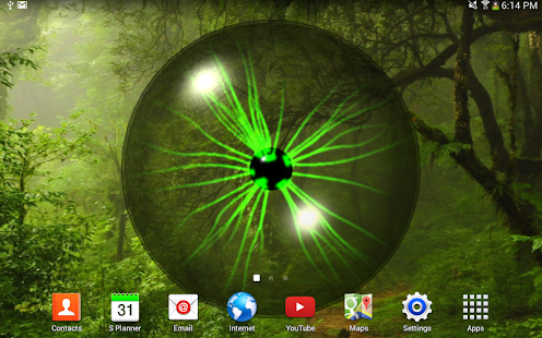 Plasma Orb Free Live Wallpaper - screenshot thumbnail