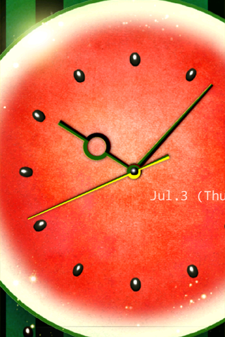 WaterMelon-Clock Trial