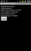 Screenshot of AwesomeForbrugsApp - SDC 2011