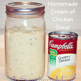 Homemade Cream of Chicken Soup.