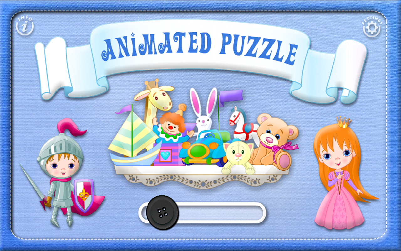 Toddler & Baby Animated Puzzle- screenshot