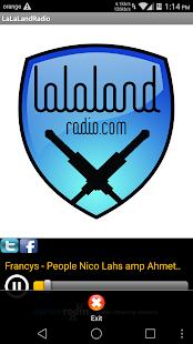 LaLaLandRadio - screenshot thumbnail