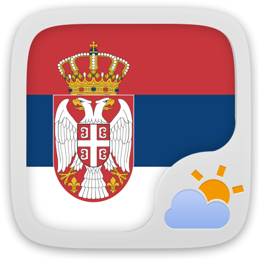 Android aplikacija Serbian Language GO Weather EX