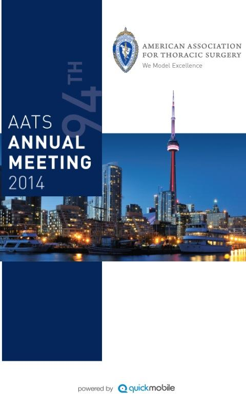 AATS Annual Meeting 2014- screenshot