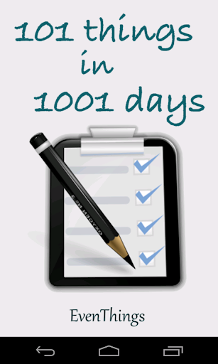 101 Things in 1001 Days FREE