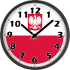Poland Clock icon