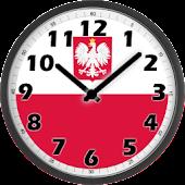 Poland Clock