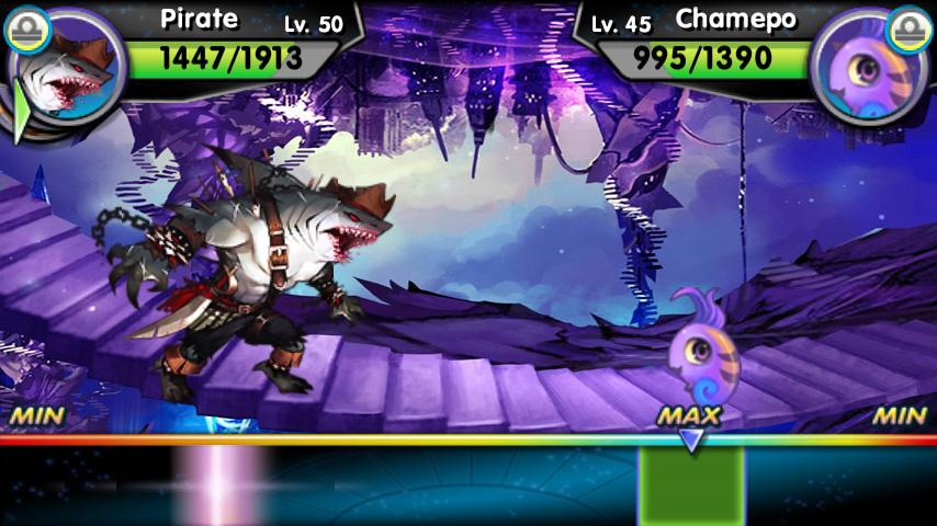 Monster Galaxy Exile – Screenshot