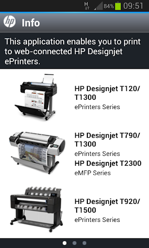HP Designjet ePrint Share