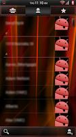 Screenshot of Laser Red CM11/AOKP Theme