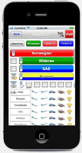 Norwegian Airports Live ArrDep