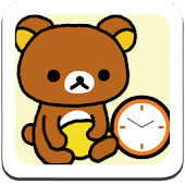 Rilakkuma Clock Widget 1