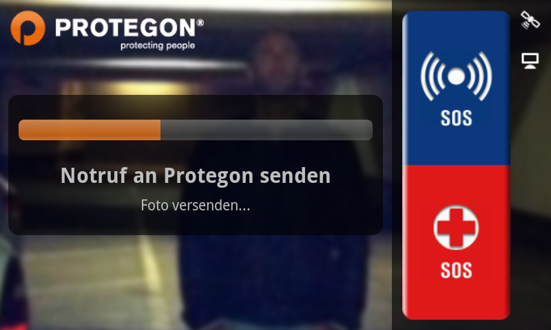 Protegon SOS- screenshot