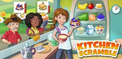 Kitchen Scramble Cooking Game Free Download