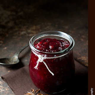 Star Anise Cranberry Sauce.