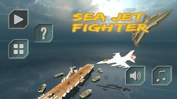 Screenshot of Sea Jet Fighter