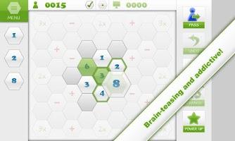 Screenshot of Mathagon