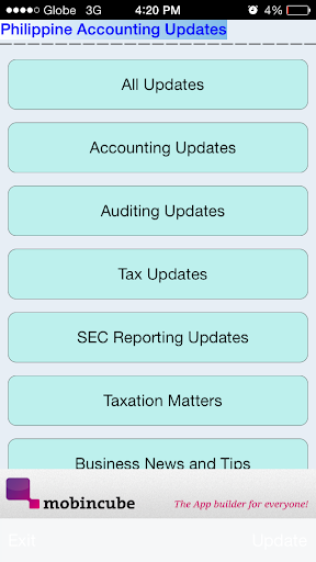 Philippine Accounting Updates