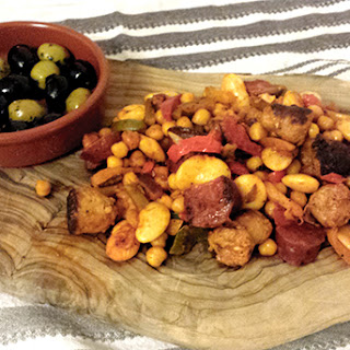 Sausage, Chorizo and Bean Mix