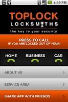 Screenshot of Melbourne Locksmiths