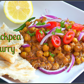 Chickpea Masala Curry.
