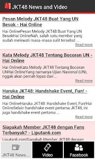 JKT48 News and Video - screenshot thumbnail