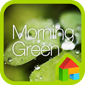 Morning Green dodol theme icon