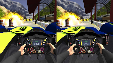 VR Car Vs Train 1.0 screenshot 6168