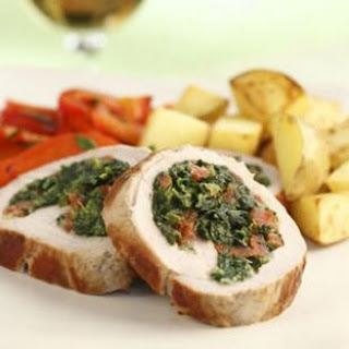Chorizo-Stuffed Pork Tenderloin