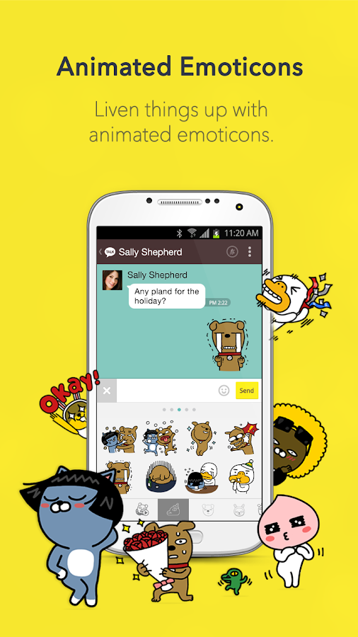 KakaoTalk: Free Calls & Text - screenshot