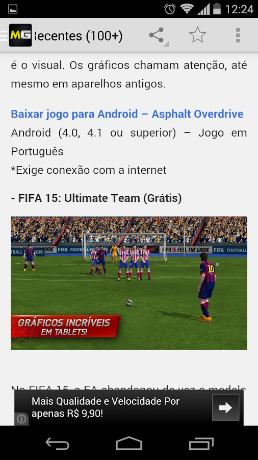 Mobile Gamer - Android- screenshot