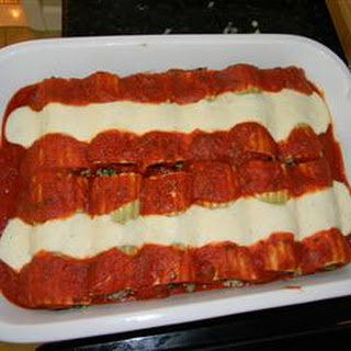 Italian Baked Cannelloni.