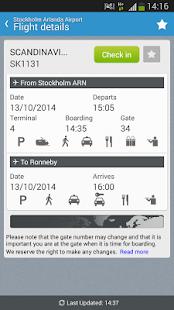 Swedavia Swedish Airports - screenshot thumbnail