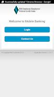 Screenshot of IBMSECU Mobile Banking