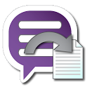 Backup Text for Viber icon