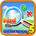 Find the differences 5 logo